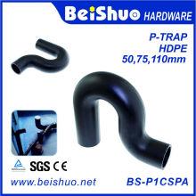 Raccords d'égouts en plastique HDPE P-Trap