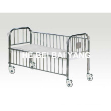 Child Bed with Stainless Steel Bed Head and Side Rail