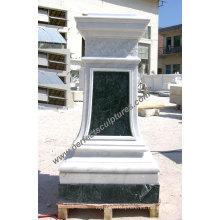 Base de mármol del granito de piedra para el ornamento del jardín (BA061)