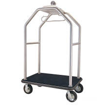 New Design Sand Silver Steel Luggage Cart (DF64)
