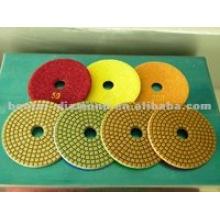 engineered stone polishing pads