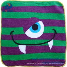 100% algodão impresso bebê toalha de mão 100% algodão impresso bebê toalha de mão