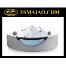 Banheira de hidromassagem acrílica moderna de canto-posicionado (BA-8602)