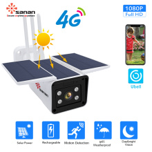 Solar 4G Wireless 2MP IP Camera with Battery
