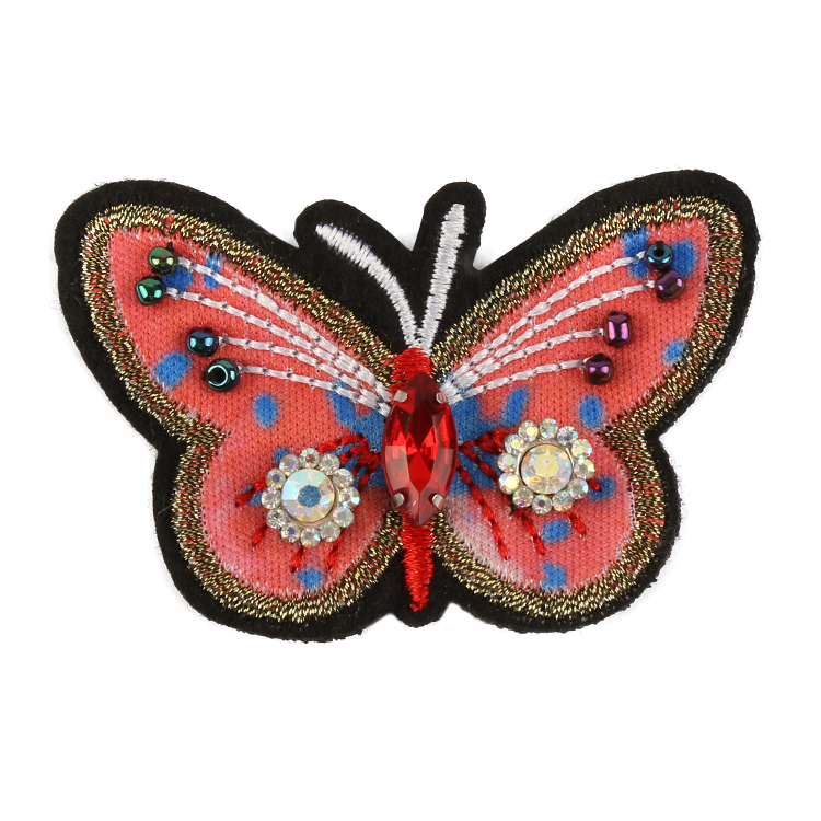 Beads Butterfly Embroidery
