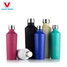 Vase Form isoliert # 304 Edelstahl Wasserflasche