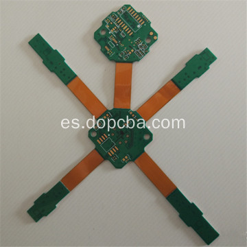 Immersion Gold 4 Layer Flex PCB rígido