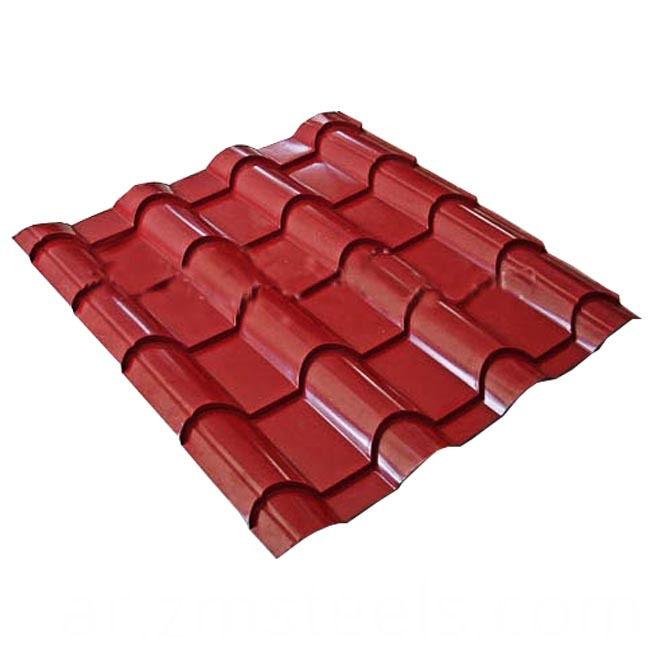 Galvanized Steel Roof Tile Plate