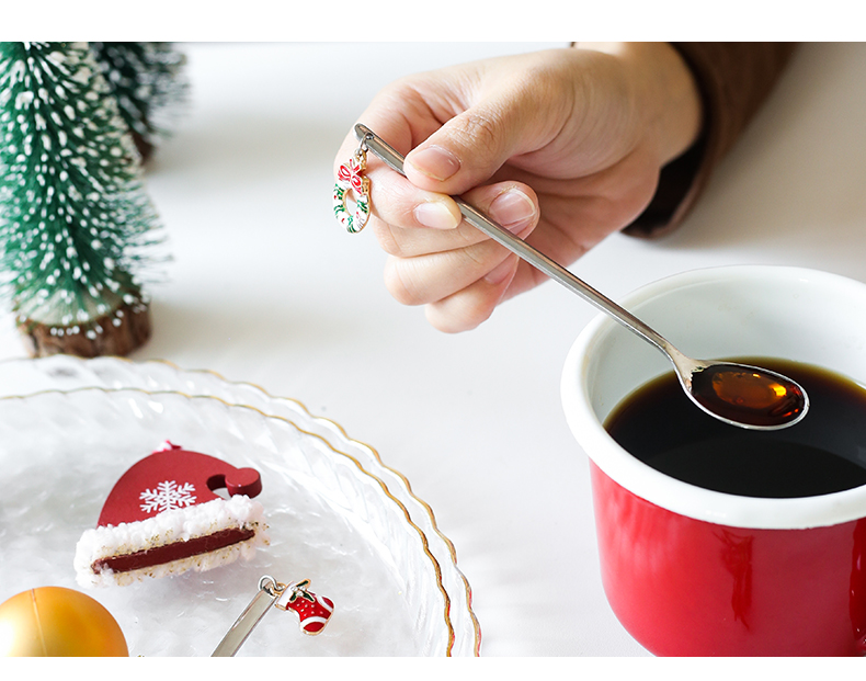 Christmas Coffee Spoon