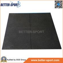 Rubber Gym Mat, Shock Resistant Rubber Gym Flooring Mat