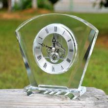K9 relógio de vidro de cristal para decoração de casa
