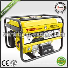 Tiger 2.5kva key start electric generator price