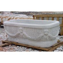 Antique Classic Bathroom Bath Tub with Stone Marble Granite (QBN066)