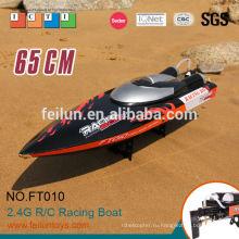 2015 году новый элемент FT010 65 см высокой скорости большой масштаб rc лодки для продажи 35 км/час