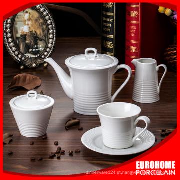 China fabricante eurohome do branco porcelana jantando jogos