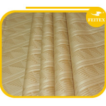 FEITEX Fashion Soft Khaki Bazin Riche African Wedding Cloth Fabric Cotton Abaya Online Shopping