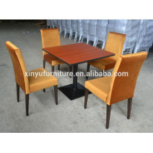 Durable restaurant table and chair sets for sale XYN207