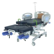 Lit de travail hospitalier électrique polyvalent