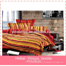 Ensemble de literie textile à bas prixL'établissement de literie textile 100% coton satiné Jacquard quatre pièces