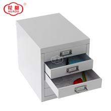 Home office Mini Unit colored desk drawer storage