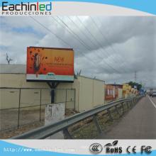 Affichage mené polychrome de P6 SMD de la publicité extérieure