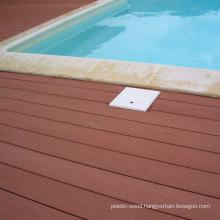 Waterproof Swimming Pool Wood Decking Flooring