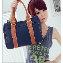 Fashion High Quality 4 Colors Women Canvas Handbag