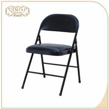 Chaise de salle à manger pliante en fer