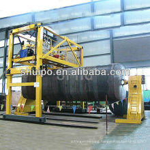 Automatic Girth welding machine for circumferential seams of irregular shaped tank/ Welding machine for tanks