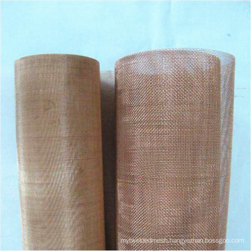 Customized phosphor bronze/brass/red copper wire mesh for filtering