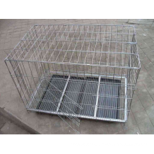 Welded color coated pet cage
