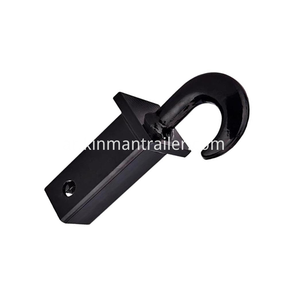 tow hook for receiver hitch