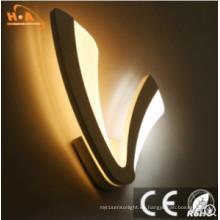 Lámpara de pared de acrílico de la iluminación decorativa interior europea