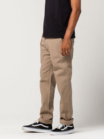 Mens Skinny Stretch Chino Pants