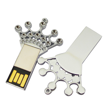 Meistverkaufte Metall Imperial Crown USB-Stick