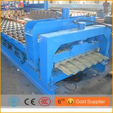 Machine de formage de rouleaux d'étape / matériaux de construction machine de fabrication de bobines d'aluminium