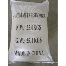 Метабисульфит натрия (SMBS, Na2S2O5) для пищевой / промышленной категории