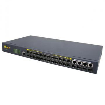 24 SFP-poorten Managed Ethernet-switch