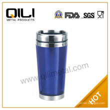 450ml double wall stainless steel office mug