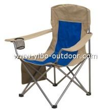silla de playa plegable con soporte de llevar bolso y taza