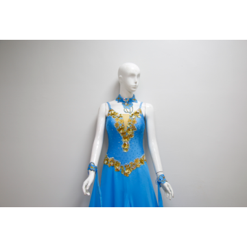 Crystallised Passion Ballroom Dance Costume