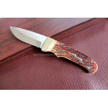 Ox Bone Handle Fixed Knife (SE-S090)