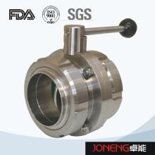 Клапан-бабочка для обработки пищевых продуктов из нержавеющей стали (JN-BV2002)