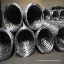 Fil ovale galvanisé pour 2.4 X3.0 et 17X15, Fil d'acier galvanisé
