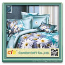 bed linen 3d/chenille fabric bedding/3d bed sheet set