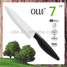 175mm White Ceramic Blade ABS or PP Handle Chef Kitchen Accessories