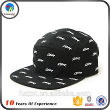 Haute qualité Oem 5 Panel Hat Cap Designer