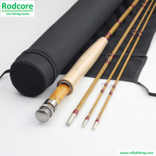 7ft6in 4wt Hand gemacht Splitted Tonkin Bambus Fliegen Rod