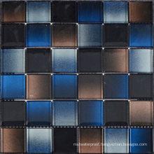 Color Mixture Crystal Glass Cold Spray Backsplash Mosaic Tile