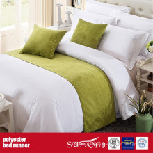 Tela de poliéster de decoración Hotel Bed Runner